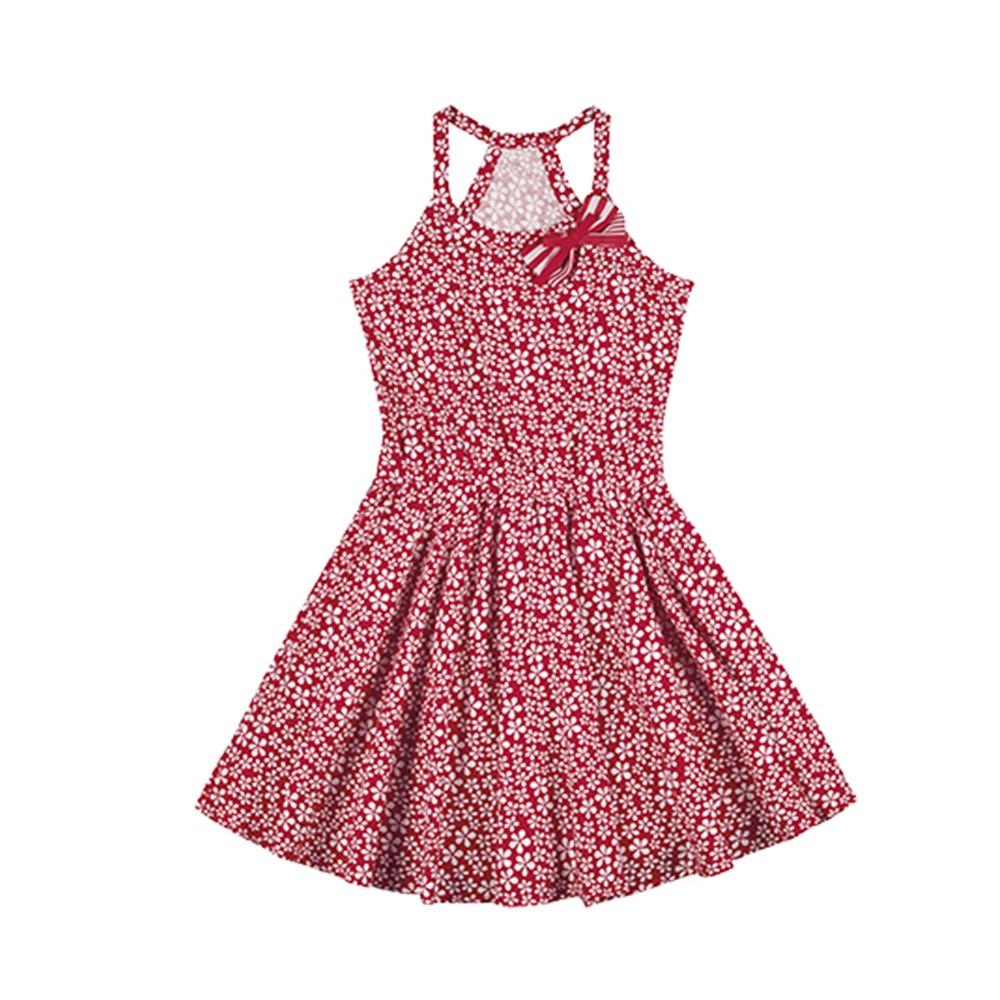 0a1809b0833c Vestido Infantil Lecimar Tricoline Melancia 04 a 10 Anos - comprar ...