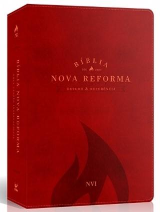 Bíblia De Estudo Nova Reforma NVI Vermelha