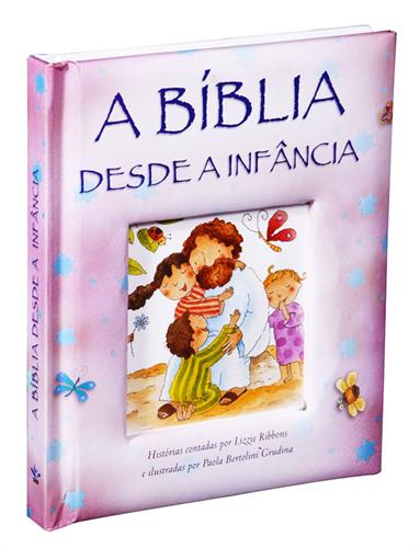 A Bíblia Desde A Infância Rosa