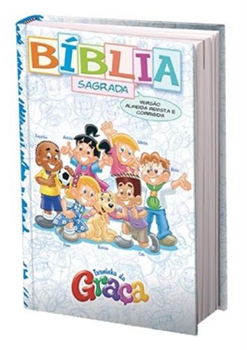 Bíblia da Turminha da Graça Capa Almofada Menino