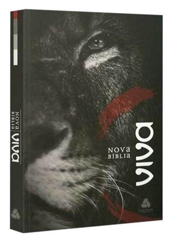 Bíblia Viva Nova Brochura Leão de Judá