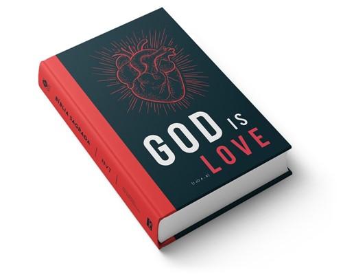 Bíblia NVT Lona God Is Love Capa Dura