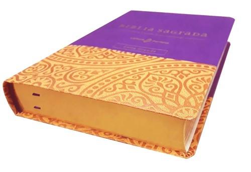 Bíblia Sua Bíblia NVI Letra Grande Roxa