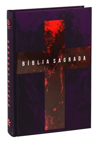 Bíblia Cruz Vermelha Capa Dura Nova Almeida Atualizada