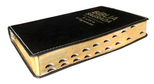 Bíblia NVI Letra Gigante Luxo Costura Cores