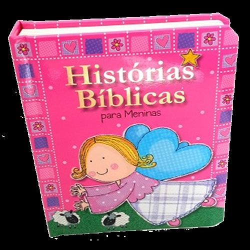 Histórias Bíblicas Para Meninas - Capa Almofadada