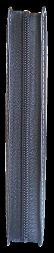 Bíblia NVT Letra Grande Zíper Costurada Preto Escovado