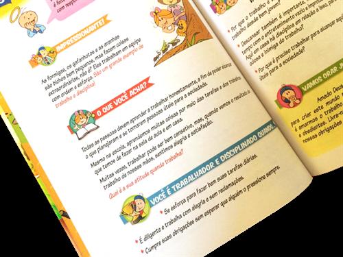 Bíblia de Princípios e Valores com Palabritas