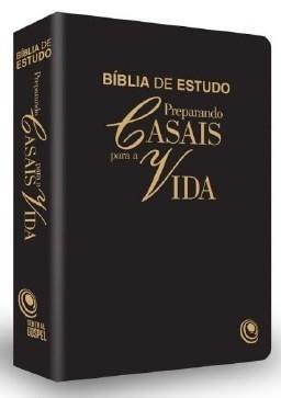 Bíblia Preparando Casais Para A Vida - Preta