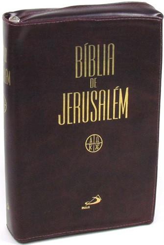 Bíblia De Jerusalém Zíper Grande