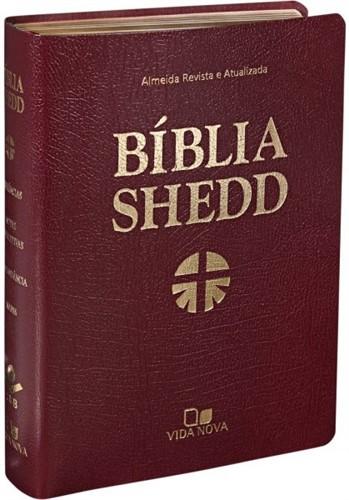 Bíblia Shedd Vinho Covertex