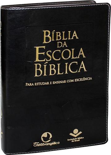 Bíblia De Estudo Escola Bíblica Preta Nobre