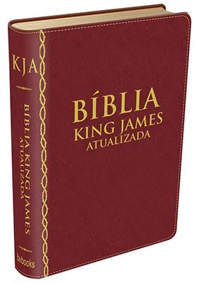 Bíblia King James Atualizada Vinho