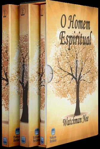 Box Homem Espiritual Volume 1, 2 e 3