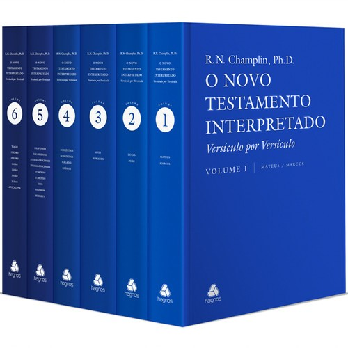 Coleção Champlin - Novo Testamento Interpretado 6 Volumes