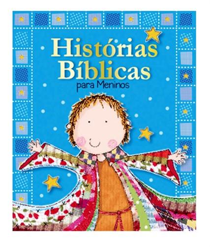 Histórias Bíblicas Para Meninos - Capa Almofadada