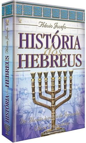 História Dos Hebreus Capa Dura