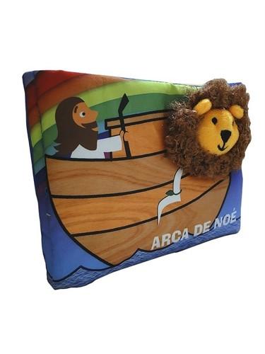 Meu Livro Bíblico De Pano - A Arca De Noé