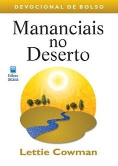 Mananciais No Deserto - Bolso