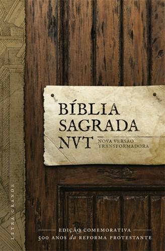 Bíblia NVT Letra Grande Comemorativa 500 Anos Da Reforma