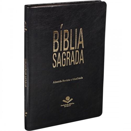Bíblia Slim Preta Nobre