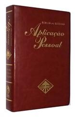 Bíblia de Estudo Aplicação Pessoal Grande Vinho