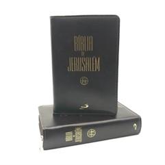 Bíblia De Jerusalém Zíper Grande-Marrom
