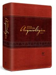 BÍBLIA DE ESTUDO ARQUEOLÓGICA - MARROM CLARO E MARROM ESCURO - NVI