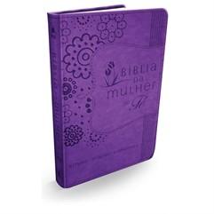 Bíblia da Mulher de Fé Roxa NVI S/Índice