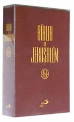 BÍBLIA JERUSALÉM MEDIA CAPA CRISTAL -MARROM