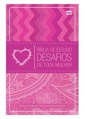 Bíblia De Estudo Desafios De Toda Mulher Rosa