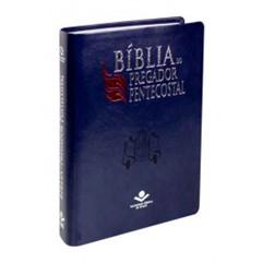 Bíblia do Pregador Pentecostal Azul Nobre NAA