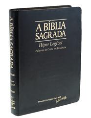 Bíblia Letra Hiper Legível Preta