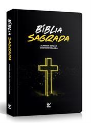 BÍBLIA EAD MÉDIA SEMI-LUXO CRUZ NEON