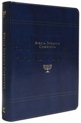 Bíblia Judaica Completa Luxo Azul