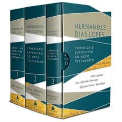 Box 3 Livros   Comentário Expositivo do Novo Testamento   Hernandes Dias Lopes