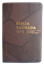 Bíblia NVT Letra Grande Luxo Costurada Marrom Costura