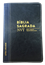 Bíblia NVT Letra Grande Luxo Bi-Color Preto com Azul