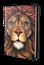 Bíblia Jesuscopy Leão Colorido Capa Dura