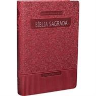 Bíblia Letra Gigante Com Índice Vermelho