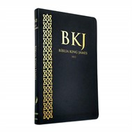 Bíblia King James 1611 - Ultrafina - Preta