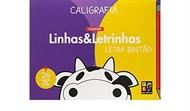Caligrafia - Coleção Linhas & Letrinhas - Letra Bastão | + 26 desenhos pra colorir