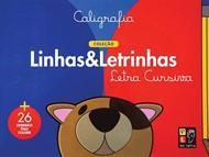 Caligrafia - Coleção Linhas & Letrinhas - Letra Cursiva | + 26 desenhos pra colorir