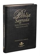 Bíblia Letra Extra Gigante Preta (palavras de Jesus em vermelho)
