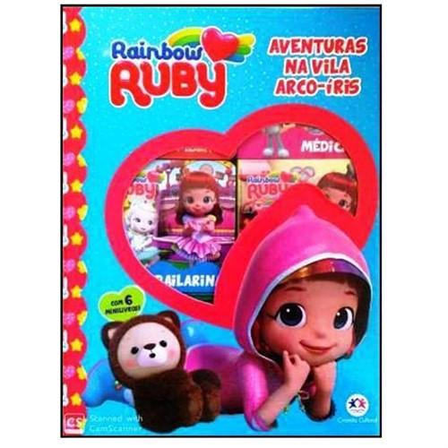 Rainbow Ruby - Aventuras na Vila Arco-íris-Box com 6 Mini Livros