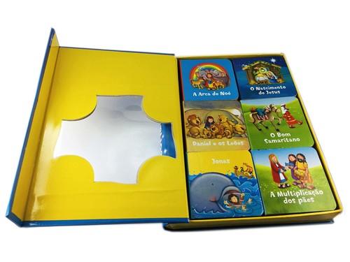 Histórias bíblicas - Box com 6 mini livros