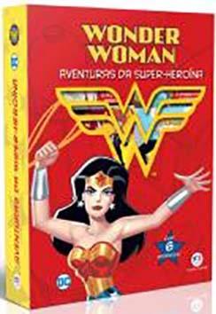 Mulher Maravilha - Aventuras da super-heroína-Box com 6 Mini Livros