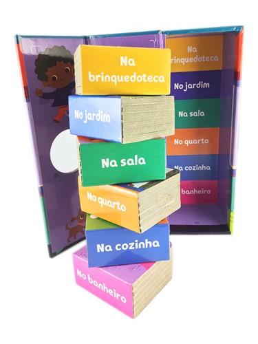 Minha casa- Box Torre com 6 mini livros