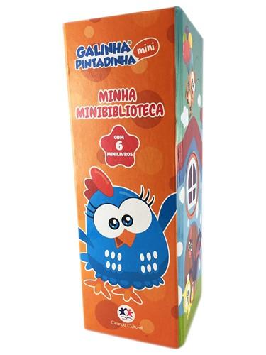 Galinha Pintadinha Mini - Minha biblioteca- Box Torre com 6 mini livros