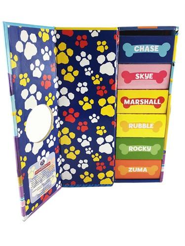 Patrulha Canina - Os filhotes da patrulha- Box Torre com 6 mini livros
